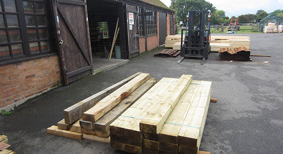 Graded Timbers